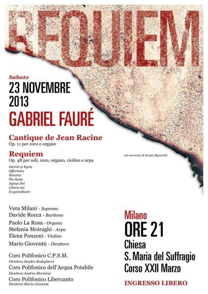 Concerto 23 Novembre 2013